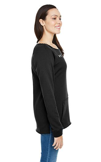 Under Armour Ladies' Hustle Crewneck Sweatshirt 2