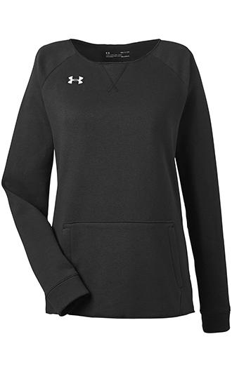 Under Armour Ladies' Hustle Crewneck Sweatshirt 3