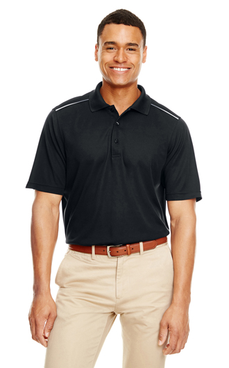 Core 365 Men's Radiant Performance Pique Polo with R