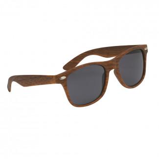 Promotional Malibu Wood Grain Sunglasses in Canada - Custom ... 7909bfa1b5ade