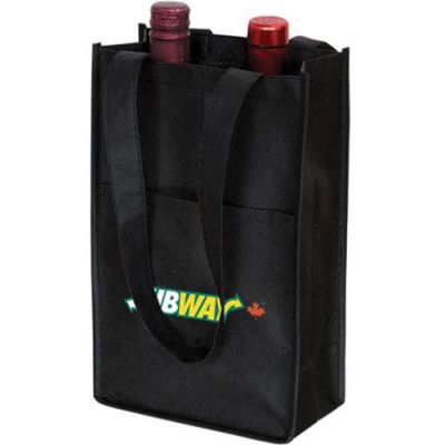Non‑Woven Two Bottle Wine Bag