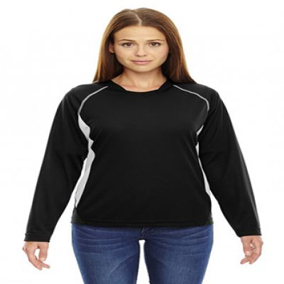 Ladies' Athletic Long Sleeve Sport Top