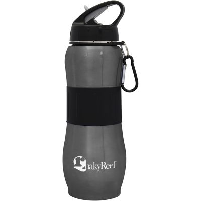 28 oz. Stainless Steel Sport Grip Bottle