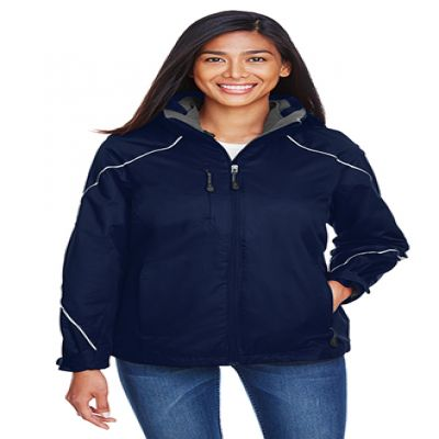 Angle Ladies' 3‑in‑1 Jacket With Bonded Fleece Liner
