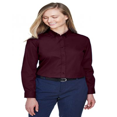 Operate Core 365 Ladies' Long Sleeve Twill Shirts
