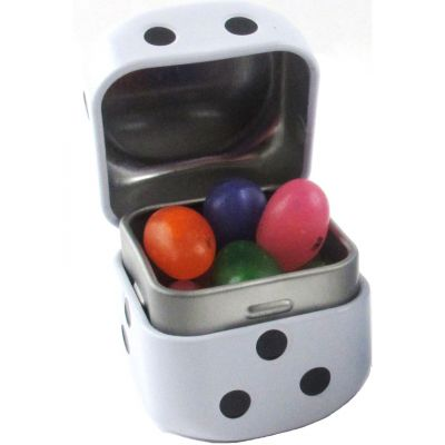 2 oz. Assorted Jelly Beans Dice Tin