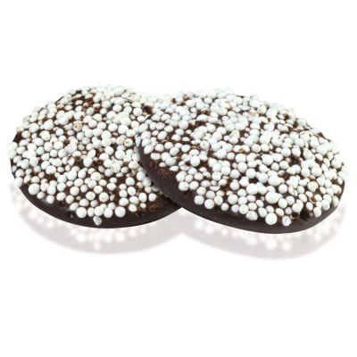 Dark Nonpareils Chocolates ‑ Individually Wrapped