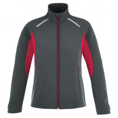 Excursion Ladies' Soft Shell Jackets With Laser Stitch Accents