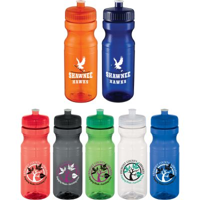 Easy Squeezy 24oz Sports Bottle ‑Crystal