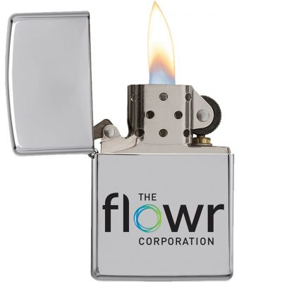 High Polish Chrome Zippo Windproof Lighter
