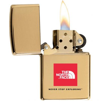 High Polish Brass Zippo Windproof Lighter