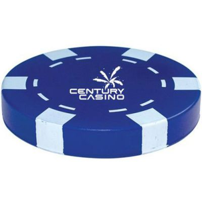 Casino Chip ‑ Blue Stress Ball