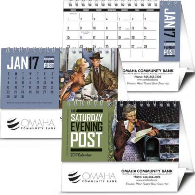 Saturday Evening Post Desk Calendar