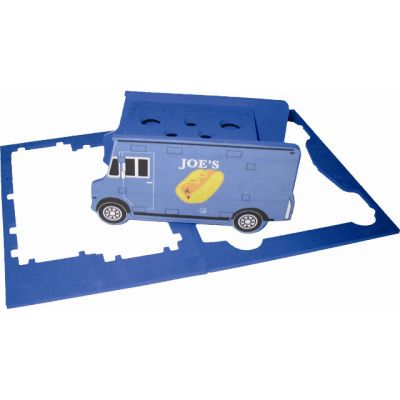 Truck Shaped Foam Puzzle