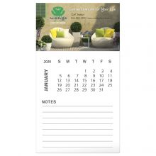Business Card Magnet with 12 Sheet Calendar