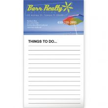 Business Card Magnet with 50 Sheet Notepad