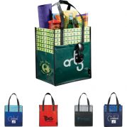 Laminated Non?Woven Big Grocery Tote