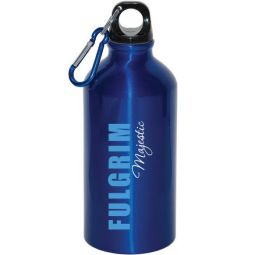 500 ml (16 oz.) Aluminum Water Bottle with carabiner