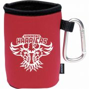 Collapsible Koozie Can Kooler with Carabiner RCC Koozie