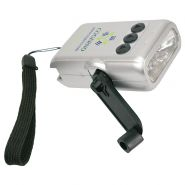 6 LED Crank Flashlight