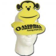 Monkey Foam Pop�Up Visor Hat