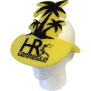 Palm Tree Foam Pop�Up Visor Hat