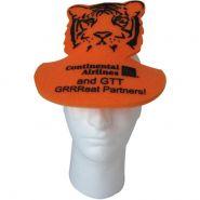 Tiger Foam Pop�Up Visor Hat