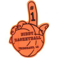 Foam Hand with Basketball