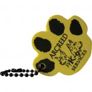 Paw Shape Foam Floating Key Tag
