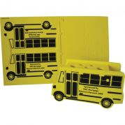 Bus Shaped Foam Puzzle