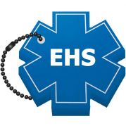Star of Life Foam Floating Key Tag