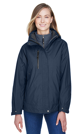 Caprice Women's 3 in 1 Jacket with Soft Shell Liner