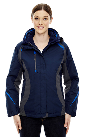 Height Ladies' 3 in 1 Jackets With Insulated Liner