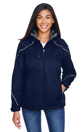 Angle Women's 3 in 1 Jacket With Bonded Fleece Liner