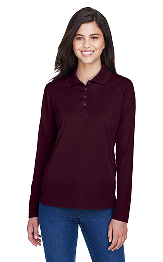 Pinncale Core 365 Women's Performance Long Sleeve Pique Polos