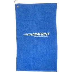 Golf Towel with Grommet and Hook (16