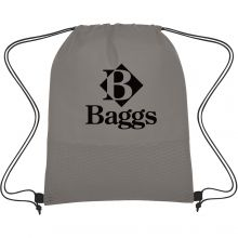 Wave Design Non-Woven Drawstring Bag