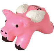 Pig with Wings Stress Ball