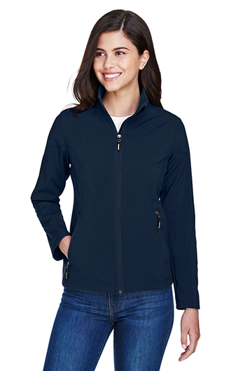 Core 365 Women's Cruise 2 Layer Fleece Bonded Soft Shell Jacket