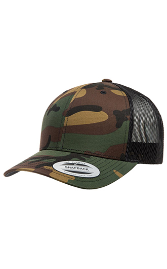 Yupoong - Classics Six-Panel Retro Trucker Cap (Camo)