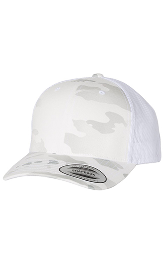 Yupoong - Classics Six-Panel Retro Trucker Cap (Multicam)