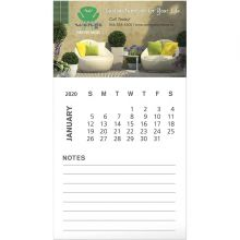 BIC Business Card Magnet with 12 Sheet Calendar