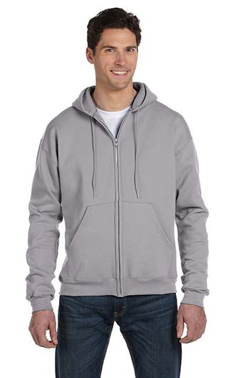 Champion Adult 9 oz. Double Dry Eco Full-Zip Hood