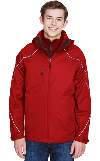 Angle Men's 3?in?1 Jacket With Bonded Fleece Liner
