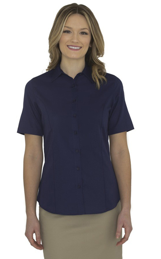 Coal Harbour Everyday Short Sleeve Ladies' Woven Shirt