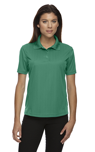 Ladies' Eperformance Jacquard Pique Polo