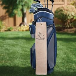 Diamond Collection Golf Towel With Tri-Fold Grommet
