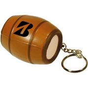 Barrel Keyring Stress Ball