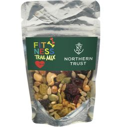 Healthy Resealable Clear Pouches (Fitness Trail Mix)