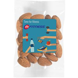 1 oz Healthy Promo Snax Bags (Raw Almonds)